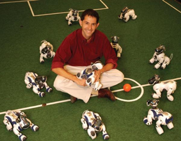 פיטר סטון וקבוצת הכדורגל שלו